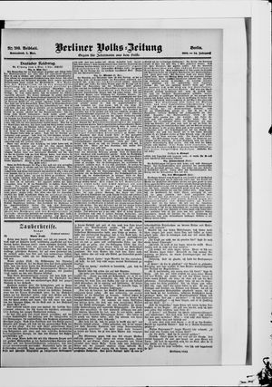 Berliner Volkszeitung vom 05.05.1906