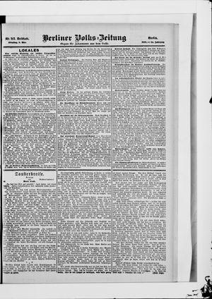 Berliner Volkszeitung on May 8, 1906
