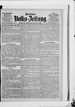Berliner Volkszeitung vom 09.05.1906
