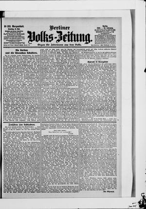 Berliner Volkszeitung vom 13.05.1906