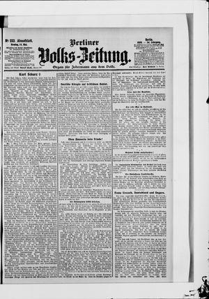 Berliner Volkszeitung vom 14.05.1906