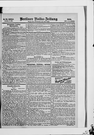 Berliner Volkszeitung on May 15, 1906