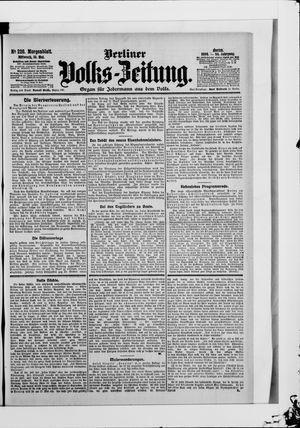 Berliner Volkszeitung vom 16.05.1906