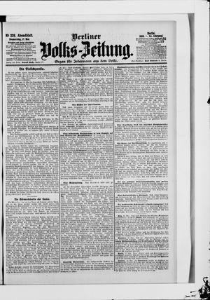 Berliner Volkszeitung vom 17.05.1906