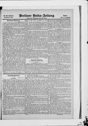 Berliner Volkszeitung vom 19.05.1906
