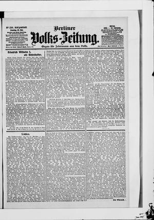 Berliner Volkszeitung vom 20.05.1906