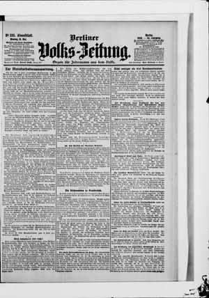 Berliner Volkszeitung vom 21.05.1906