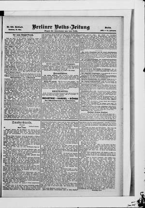 Berliner Volkszeitung vom 22.05.1906