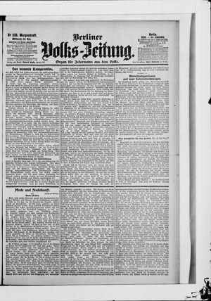 Berliner Volkszeitung on May 23, 1906