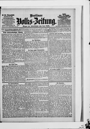 Berliner Volkszeitung vom 26.05.1906