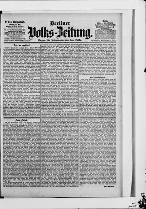 Berliner Volkszeitung vom 27.05.1906
