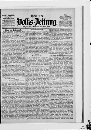 Berliner Volkszeitung vom 05.06.1906