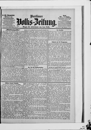 Berliner Volkszeitung vom 06.06.1906