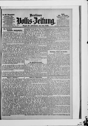 Berliner Volkszeitung vom 07.06.1906