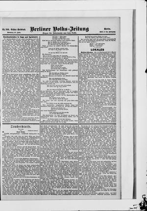 Berliner Volkszeitung vom 10.06.1906