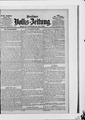 Berliner Volkszeitung vom 11.06.1906