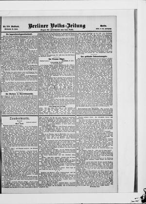 Berliner Volkszeitung vom 13.06.1906