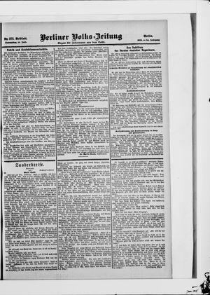 Berliner Volkszeitung vom 14.06.1906