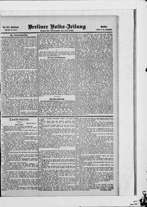 Berliner Volkszeitung vom 15.06.1906