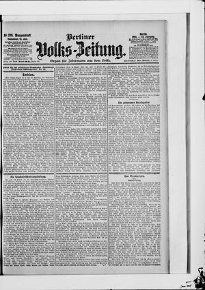 Berliner Volkszeitung vom 16.06.1906