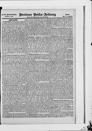 Berliner Volkszeitung vom 17.06.1906