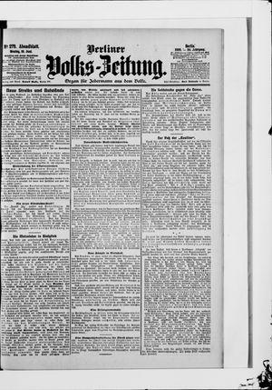 Berliner Volkszeitung vom 18.06.1906