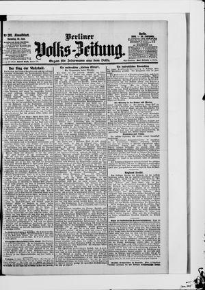 Berliner Volkszeitung vom 19.06.1906