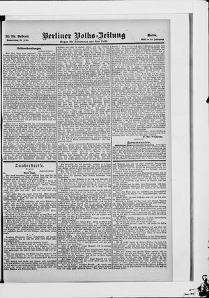 Berliner Volkszeitung vom 21.06.1906