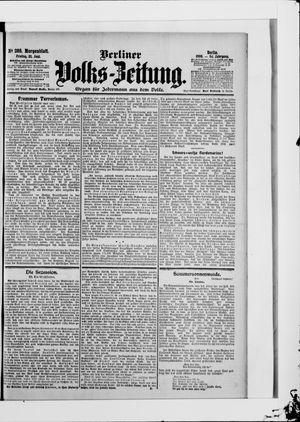 Berliner Volkszeitung vom 22.06.1906