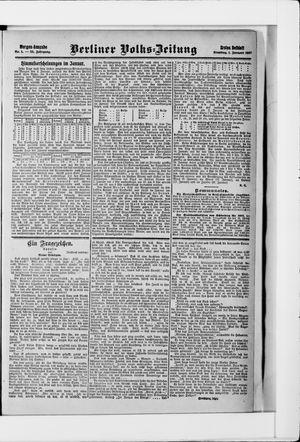 Berliner Volkszeitung vom 01.01.1907