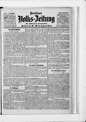 Berliner Volkszeitung vom 04.01.1907