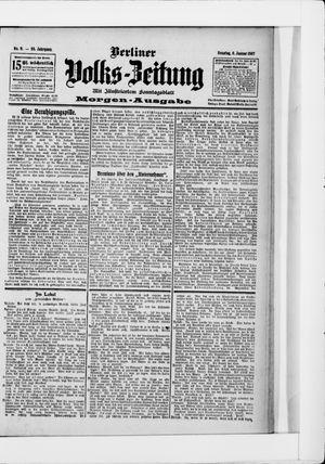 Berliner Volkszeitung vom 06.01.1907
