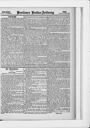 Berliner Volkszeitung vom 08.01.1907