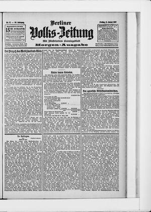 Berliner Volkszeitung vom 11.01.1907