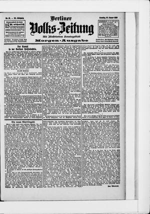 Berliner Volkszeitung vom 13.01.1907