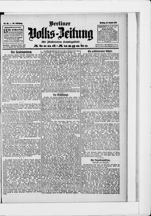 Berliner Volkszeitung vom 14.01.1907