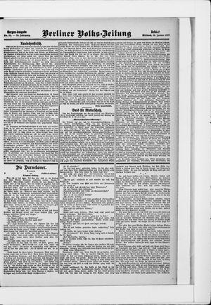 Berliner Volkszeitung vom 16.01.1907