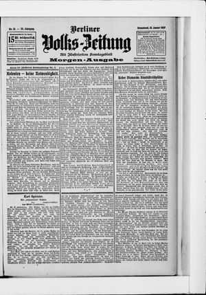 Berliner Volkszeitung vom 19.01.1907