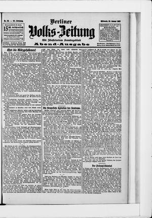 Berliner Volkszeitung vom 23.01.1907