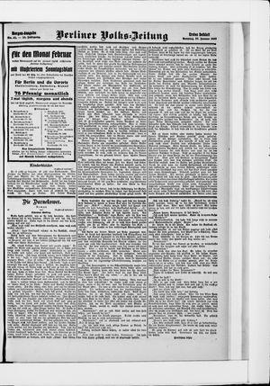 Berliner Volkszeitung vom 27.01.1907
