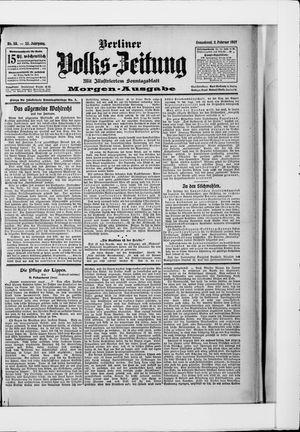 Berliner Volkszeitung vom 02.02.1907