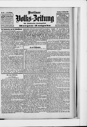 Berliner Volkszeitung vom 05.02.1907