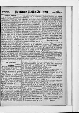 Berliner Volkszeitung vom 15.02.1907