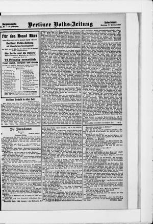 Berliner Volkszeitung vom 17.02.1907