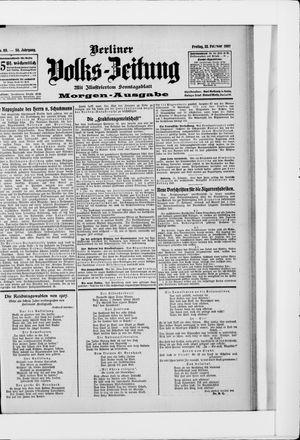Berliner Volkszeitung vom 22.02.1907