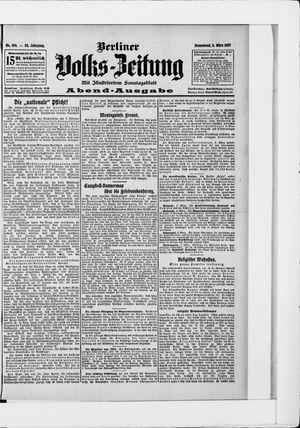 Berliner Volkszeitung vom 02.03.1907