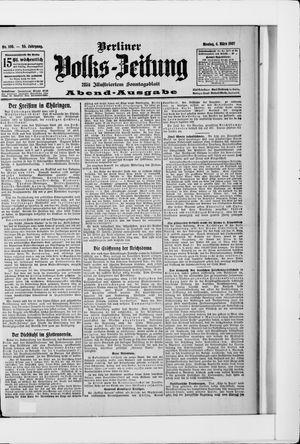 Berliner Volkszeitung vom 04.03.1907
