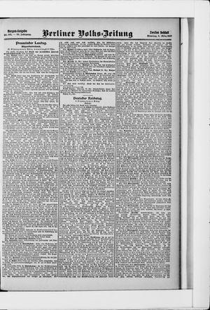 Berliner Volkszeitung vom 05.03.1907