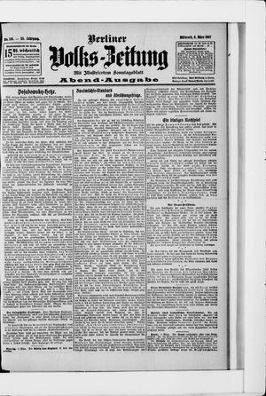 Berliner Volkszeitung vom 06.03.1907