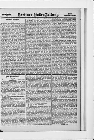 Berliner Volkszeitung vom 07.03.1907